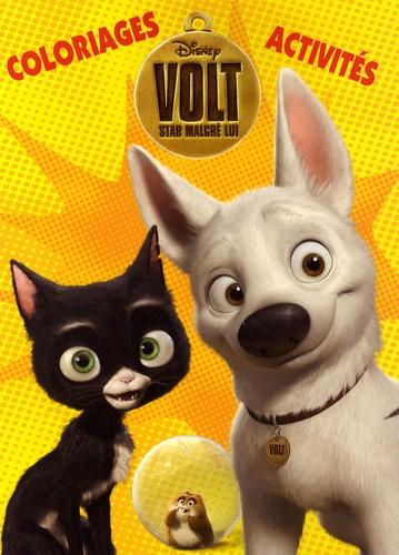 Disney - Volt, star malgré lui - Coloriages et activités.