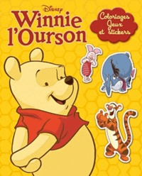 Disney - Winnie l'Ourson, coloriages, jeux et stickers.