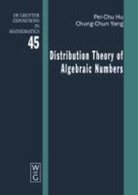 Distribution Theory of Algebraic Numbers.
