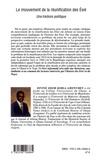 Divine Edem Kobla Amenumey - Le mouvement de la réunification des Ewé - Une histoire politique.