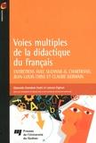 Djaouida Hamdani Kadri et Lahcen Elghazi - Voies multiples de la didactique du français.