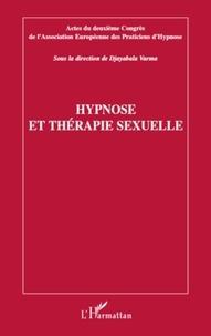 Djayabala Varma - Hypnose et thérapie sexuelle.