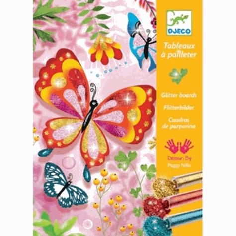 Coffret Tableaux à pailleter/ Papillons à paillettes