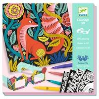 DJECO - Coloriage 3D Forêt Fantastique