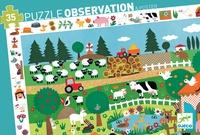 DJECO - Puzzle observation La ferme - 35 pièces