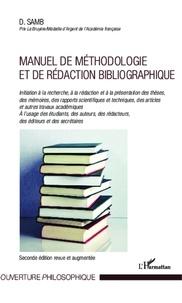 Djibril Samb - Manuel de méthodologie et de rédaction bibliographique.