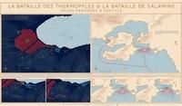 Poster la bataille des Thermopyles et la bataille de Salamine - Selon Hérodote et Eschyle.pdf