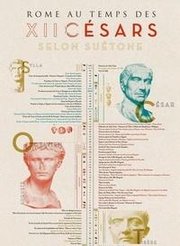 Djohr - Poster Rome au temps des douze Césars selon Suétone.