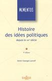 Dmitri-Georges Lavroff - Histoire des idées politiques depuis le XIXe siècle.