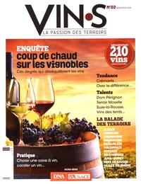 Hervé de Chalendar - Vin.s N° 2, septembre 2019 : Coup de chaud sur les vignobles - Ces degrés qui déséquilibrent les vins.