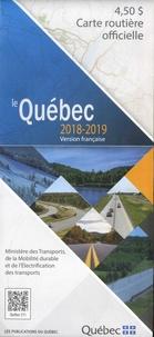 Publications du Québec - Le Québec - Carte routière officielle 1/1 250 000.