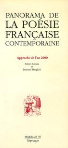 Fulvio Caccia et Bernard Hreglich - Moebius N° 49, Automne 1991 : Panorama de la poésie française contemporaine - aproche de l'an 2000.