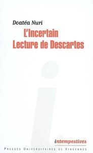 Costituentedelleidee.it L'Incertain - Lecture de Descartes Image