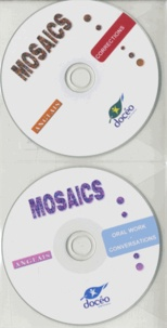 Docéo - Anglais Mosaics - Corrections ; Oral Work - Conversations. 1 Cédérom + 1 CD audio