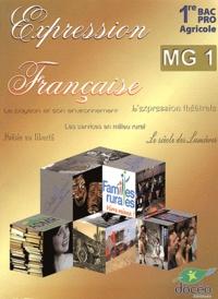 Docéo - Expression française 1e Bac Pro agricole MG 1.