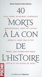 Docteur Cabanès - Les morts mystérieuses de l'histoire de France - 2 volumes.
