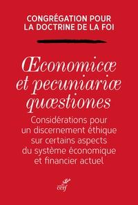 Openwetlab.it Oeconomicae et pecuniariae quaestiones - Considérations pour un discernement éthique sur certains aspects du système économique et financier actuel Image