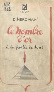 Dom Neroman - Le nombre d'or à la portée de tous.