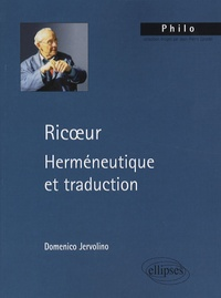 Domenico Jervolino - Ricoeur - Herméneutique et traduction.