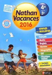 Nathan Vacances De La 4e Vers La 3e Pdf Livre Gratuit