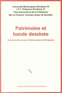 Dominique Audrerie - Patrimoine et bande dessinée - Huitièmes Rencontres Patrimoniales de Périgueux.