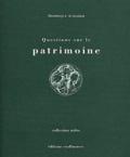 Dominique Audrerie - Questions sur le patrimoine.