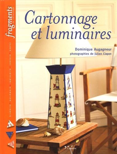 Dominique Augagneur - Cartonnage et luminaires.
