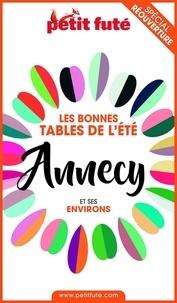 Dominique Auzias et Jean-Paul Labourdette - BONNES TABLES ANNECY 2020 Petit Futé.