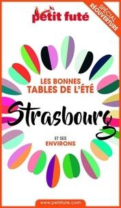 Dominique Auzias et Jean-Paul Labourdette - BONNES TABLES STRASBOURG 2020 Petit Futé.