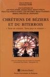 Dominique Avon - Chrétiens de béziers et du biterrois.