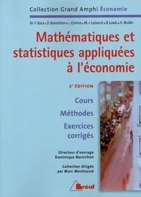 Dominique Barnichon - Mathématiques et statistiques appliquées à l'économie.