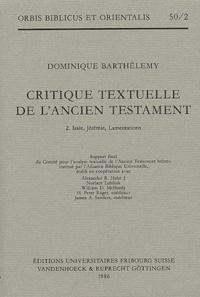 Dominique Barthélemy - .