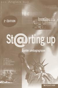 Dominique Beck et Annie Goulvent - Starting up - Guide pédagogique.