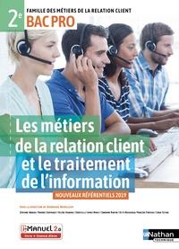 Deedr.fr Les métiers de la relation client et le traitement de l'info 2e Bac Pro MRC Image