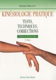 Dominique Bernascon - Kinésiologie pratique - Tests, techniques, corrections.