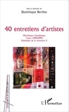 Dominique Berthet - 40 entretiens d'artistes Martinique, Guadeloupe - Tome 1 (1996-1999).
