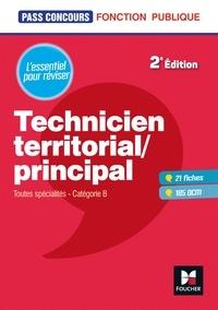 Télécharger le format pdf des ebooks Pass'Concours - Technicien territorial / principal - 2e édition - Révision et entrainenement par Dominique Berville 9782216156061