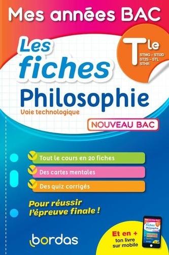 Les fiches Philosophie Tle voie Technologique  Edition 2021
