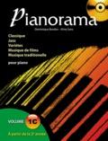 Dominique Bordier et Aline Sans - Pianorama - Volume 1C, A partir de la 2e année. 1 CD audio