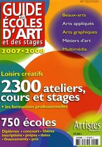 Dominique Bosch - Guide des écoles d'art et des stages 2007-2008 - Formations artistiques.