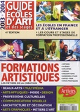 Dominique Bosch - Guide des Ecoles d'art et des stages 2013-2014.
