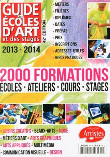 Dominique Bosch - Guide des écoles d'art et des stages 2013-2014.