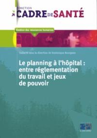 Dominique Bourgeon - Le planning à l'hopital : entre réglementation du travail et jeux de pouvoir.