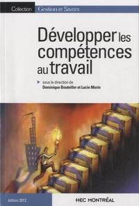 Dominique Bouteiller - Développer les compétences au travail.