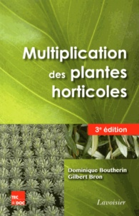 Multiplication des plantes horticoles - Dominique Boutherin   Showmesound.org