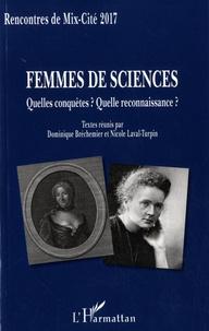 Deedr.fr Femmes de sciences - Quelles conquêtes ? Quelle reconnaissance ? Image