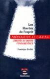 Dominique Breillat - Les libertés de l'esprit - Libertés et droits fondamentaux.