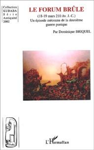 Openwetlab.it Le Forum brûle (18-19 mars 210 av. - J.-C.). Un épisode méconnu de la deuxième guerre punique Image