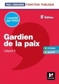 Dominique Brisset et Valérie Béal - Pass'Concours Gardien de la paix Cat. B - Entrainement et révision.