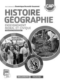 Dominique Brunold-Jouannet - Histoire-Géographie EMC CAP - Livre du professeur.